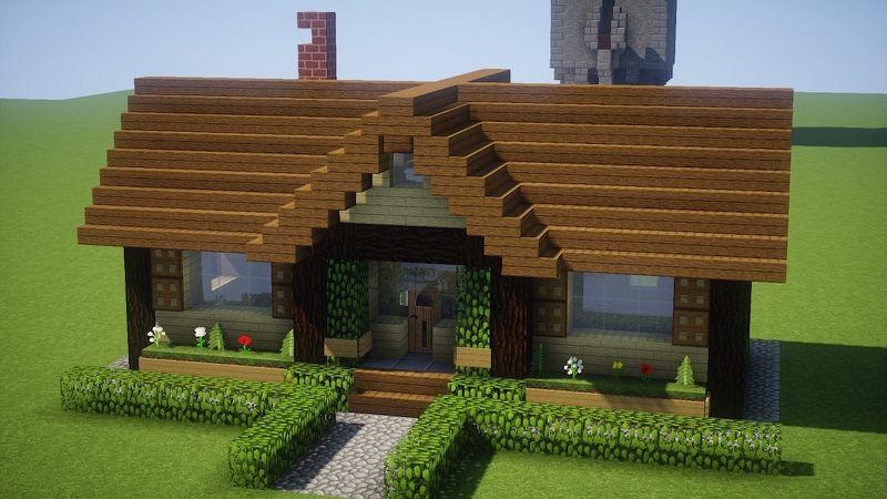 casa su Minecraft